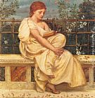 Edward John Poynter Reading painting