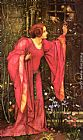 Edward Reginald Frampton Stone Walls Do Not A Prison Make, Nor Iron Bars A Cage painting