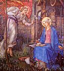 Edward Reginald Frampton The Annunciation painting