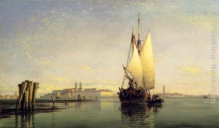 Edward William Cooke On The Lagoon Of Venice
