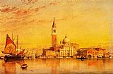 Edward William Cooke San Giorgio Maggior, Venice painting