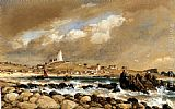 Edward William Cooke View Of St. Agnes, Scilly Isles painting