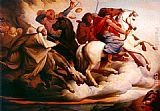 Edward von Steinle Four Horsemen of the Apocalypse painting