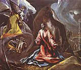 El Greco Agony in the Garden painting