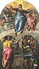 El Greco Assumption of the Virgin painting