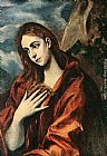 El Greco Penitent Magdalene painting