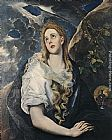 El Greco St Mary Magdalene painting