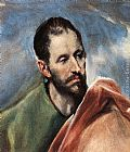 El Greco Study of a Man painting