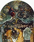 El Greco The Burial of Count Orgaz painting