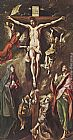 El Greco The Crucifixion painting