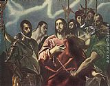 El Greco The Disrobing of Christ painting