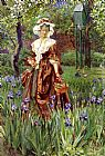 Eleanor Fortescue-Brickdale Madame Placid painting