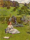 Eleanor Fortescue-Brickdale The Rose painting