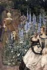 Eleanor Fortescue-Brickdale They toil not, neither do they spin painting