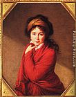 Elisabeth Louise Vigee-Le Brun Portrait of Countess Golovine painting