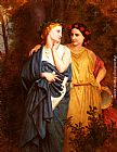 Elizabeth Jane Gardner Bouguereau Philomena And Procne painting