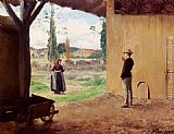 Emile Friant Spring painting