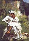 Emile Friant Tendresse Maternelle painting