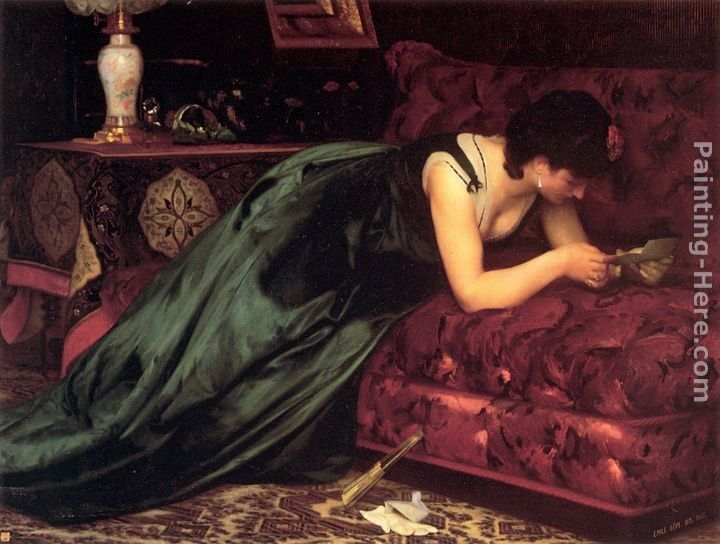 Emile Levy The Love Letter