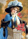 Emile Vernon Carnations Are For Love painting