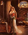 Emile Vernon The Secret Message painting