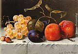 Emilie Preyer Still Life with Fruit and Nuts painting