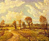 Ernest Lawson New England Lanscape painting