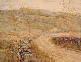 Ernest Lawson Road in Spring painting