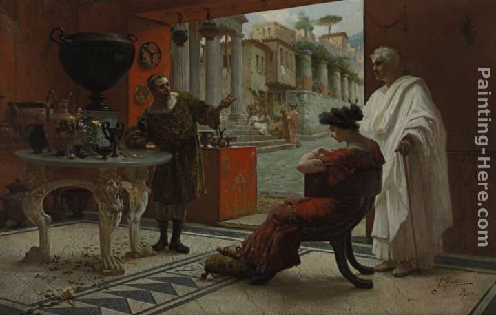 Ettore Forti The Vendor of Antiquities
