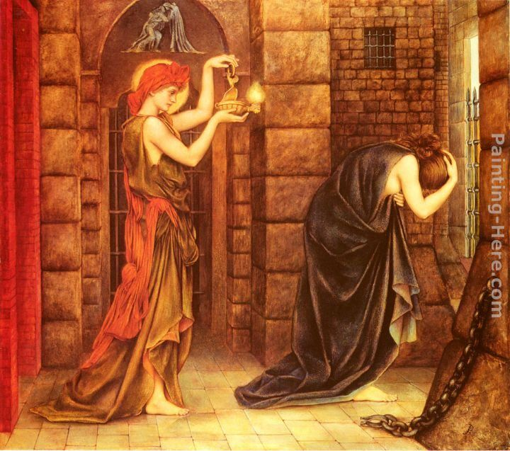 Evelyn de Morgan Hope in the Prison of Despair