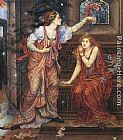 Evelyn de Morgan Queen Eleanor and Fair Rosamund painting