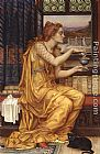 Evelyn de Morgan The Love Potion painting