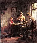 Evert Pieters The Afternoon Meal painting