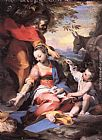 Federico Fiori Barocci Rest on the Flight to Egypt painting