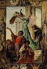 Ferdinand Roybet A Musical Fanfare painting