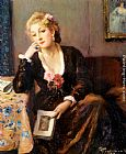 Fernand Toussaint Faraway Thoughts painting