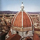 Filippo Brunelleschi Dome of the Cathedral painting