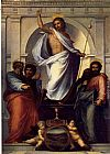 Fra Bartolommeo Christ with the Four Evangelists painting