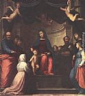 Fra Bartolommeo The Marriage of St Catherine of Siena painting