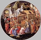 Fra Filippo Lippi Adoration of the Magi painting