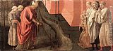 Fra Filippo Lippi St Fredianus Diverts the River Serchio painting