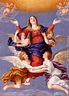 Francesco Albani Assumption Of The Virgin painting