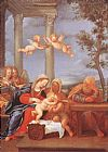 Francesco Albani Holy Family painting