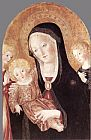 Francesco Di Giorgio Martini Madonna and Child with Two Angels painting