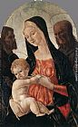 Francesco Di Giorgio Martini Madonna and Child with two Saints painting