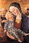 Francesco Di Giorgio Martini Madonna with Child and Two Saints painting