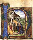 Francesco Di Giorgio Martini Nativity (in an Antiphonary) painting