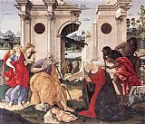 Francesco Di Giorgio Martini Nativity painting