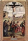 Francesco Francia Crucifixion painting