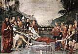 Francesco Francia The Burial of St Cecily painting